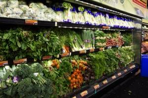 lineal de verudras un supermercado de Nueva York